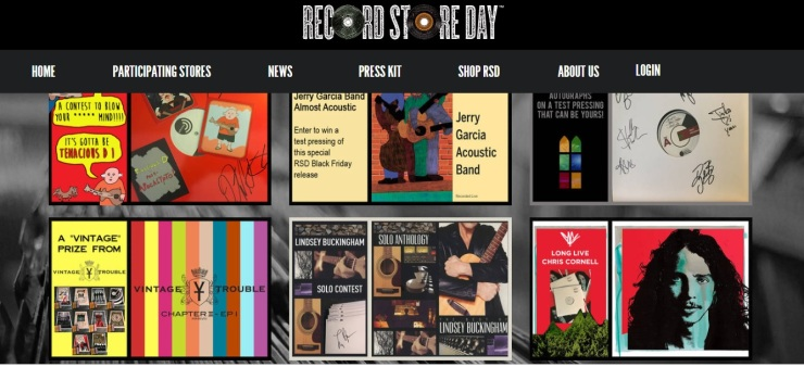 record stor day pagina